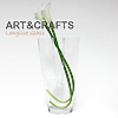 입술쉐입 디자인 대형 유리꽃화병 (중)
