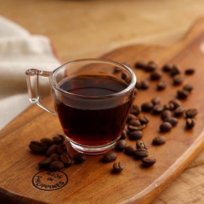 럭키글라스 유리 에스프레소 커피 핸즈샷잔 2.4oz.