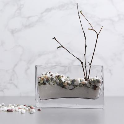 사각미니 명함꽂이 유리꽃화병