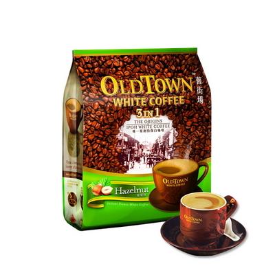 말레이시아 올드타운 화이트커피 헤이즐넛 커피믹스
