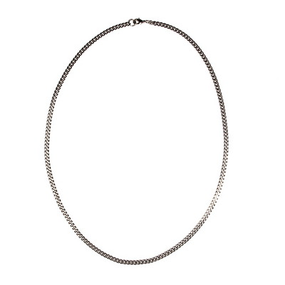 Silver Chain Necklace(4mm)