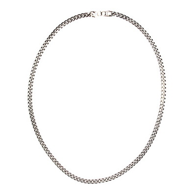 Silver Chain Necklace(6mm)