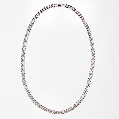 Silver Chain Necklace(7mm)