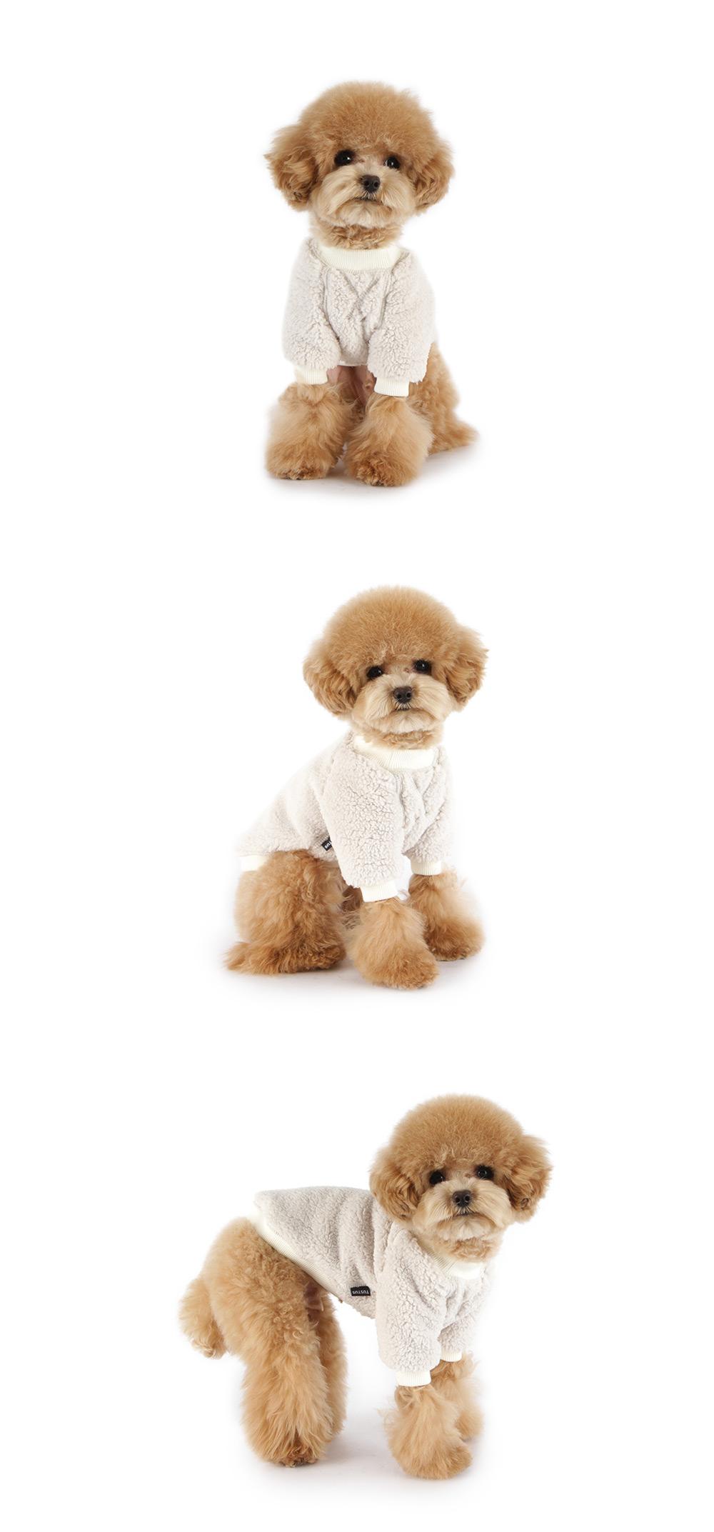강아지 겨울옷 맨투맨 - 아이보리29,000원-투스투스펫샵, 강아지용품, 의류/액세서리, 의류바보사랑강아지 겨울옷 맨투맨 - 아이보리29,000원-투스투스펫샵, 강아지용품, 의류/액세서리, 의류바보사랑