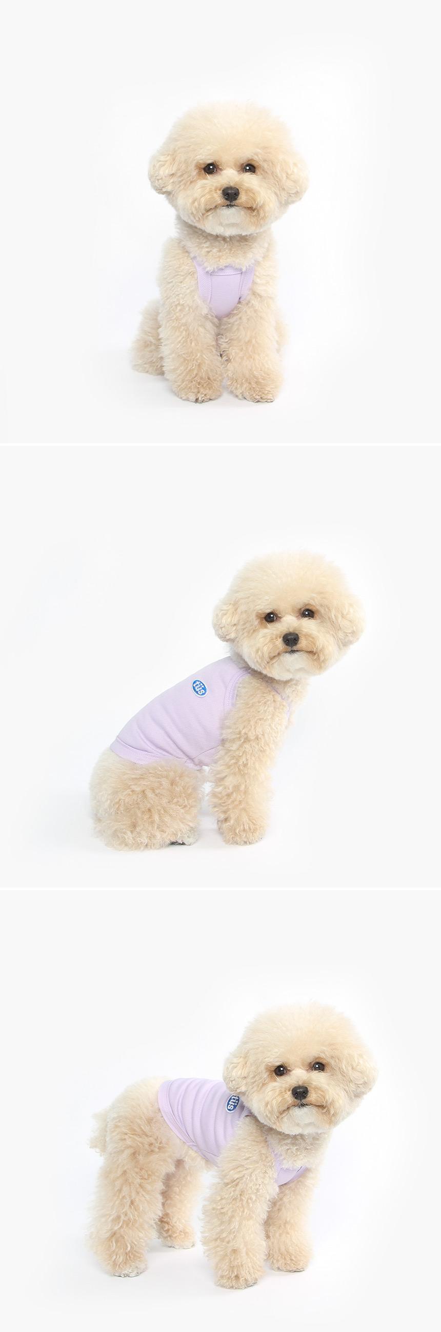 강아지 쿨티셔츠 (보라) - 투스투스, 14,850원, 의류/액세서리, 의류