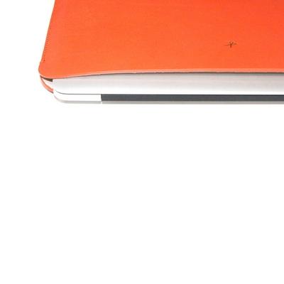 맥북프로 터치바 Macbook Pro 맥북 13형 가죽 파우치(오렌지)