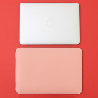 맥북프로 신형 터치바 Macbook Pro 맥북 13형 가죽 파우치(로얄베이비핑크)