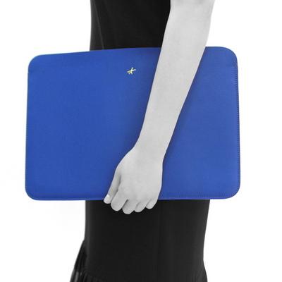맥북프로 신형 터치바 Macbook Pro 맥북 13형 가죽 파우치(로얄포카리블루)