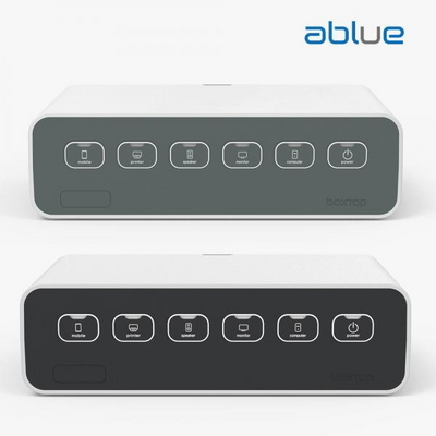 1+1 에이블루 박스탭 일반형 + 프리미엄 전선정리 멀티탭