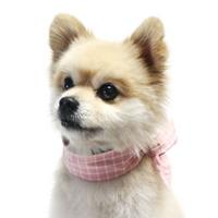 와이어 스카프 (핑크)