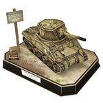 큐빅펀 3D퍼즐 미국 M4 셔먼전차