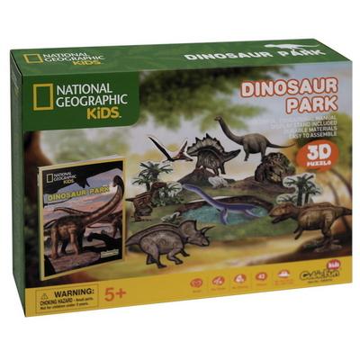 내셔널지오그래픽 3D퍼즐 다이노소어 파크
