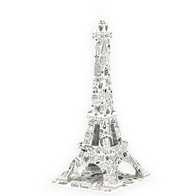 큐빅펀 컬러링 입체퍼즐 에펠탑