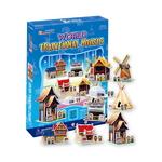 3D퍼즐 세계전통가옥