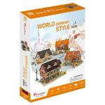 3D월드스타일 독일 전통가옥세트