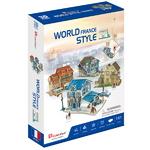 3D월드스타일 프랑스 전통가옥세트