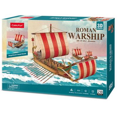 큐빅펀 3D퍼즐 로마군선(대)