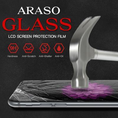 LG X6 2019 아라소 강화유리 액정 보호 필름