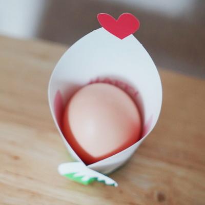 달걀품은 꼬꼬(10매)-1구 포장지 간식포장 계란꾸미기