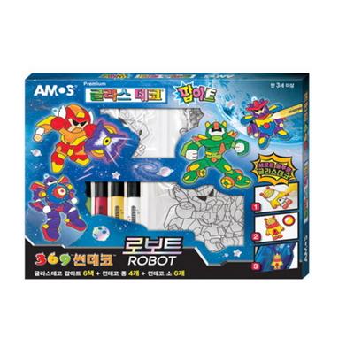 AMOS 11000글라스데코팝아트썬데코로보트