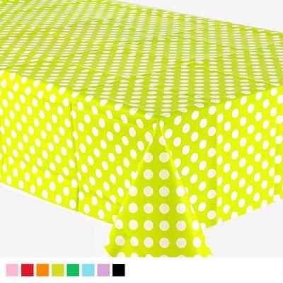 비닐 테이블보 빅도트