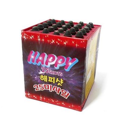 폭죽 25연발 해피샷 _partypang