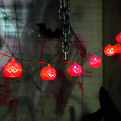 LED점등 호박가렌드 _partypang