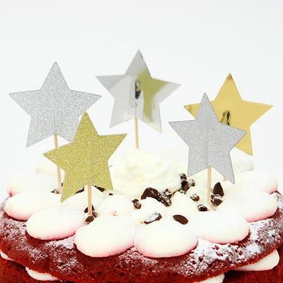 케익데코픽 별 12개입 _joyparty