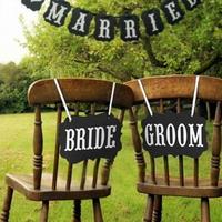 셀프웨딩촬영소품 BRIDE GROOM _joyparty