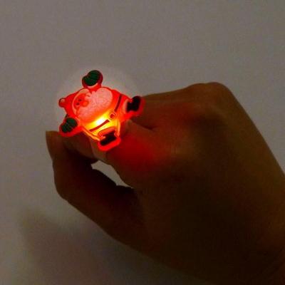 크리스마스 LED 점등 반지 5개묶음 _partypang