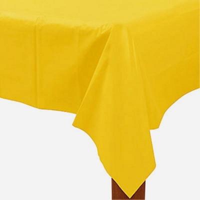 비닐 테이블보 [옐로우] _partypang