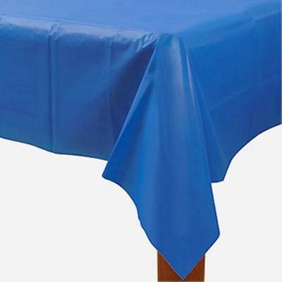 비닐 테이블보 [블루] _partypang