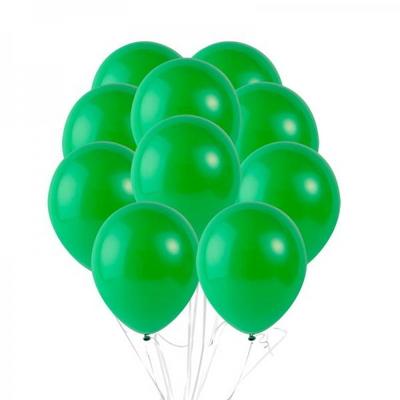 30cm 파티팡풍선 10입세트 라이트그린 (풍선+컬링리본+양면테잎) _partypang