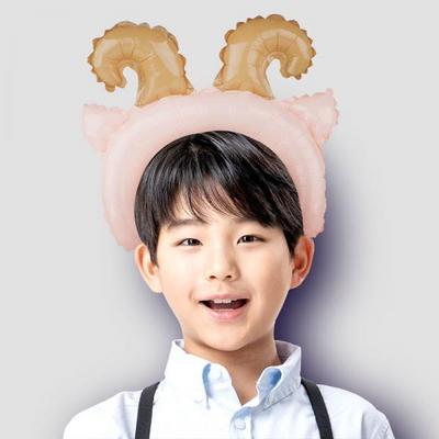 은박풍선머리띠 염소 _partypang