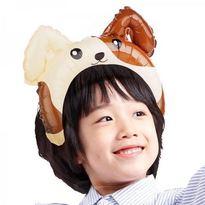 은박풍선머리띠 강아지 _partypang