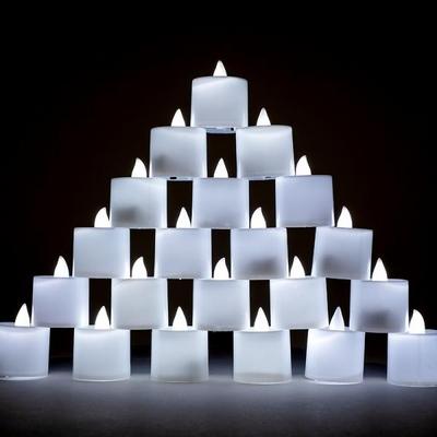 LED 티라이트 [백색] 지속형 24개입 _partypang