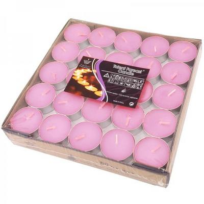 프리미엄 티라이트캔들 50개입 [핑크] 3.5H _partypang