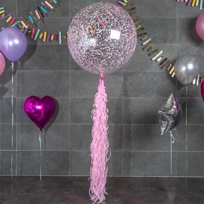 벌룬테일 1m [핑크] _partypang