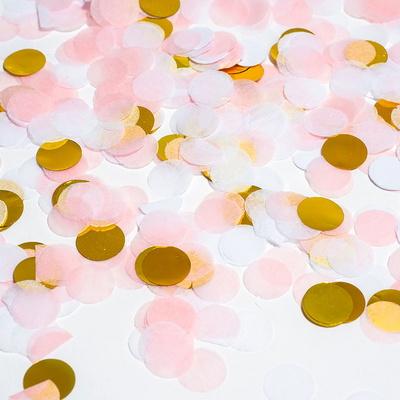 버블컨페티 꽃가루 [핑크골드] _partypang