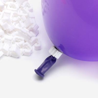 풍선 자동 묶음장치 100개입 [화이트] (풍선쉽게묶기/풍선매듭클립) _partypang