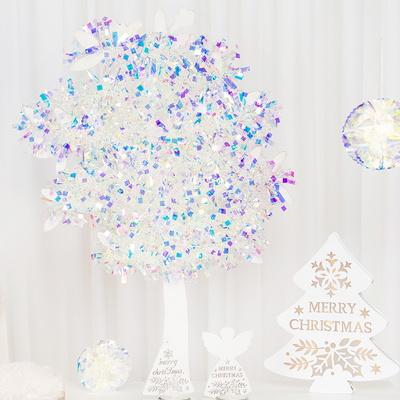 크리스마스 모루 2m [홀로그램 화이트] _partypang