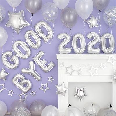 연말 파티 장식세트 [굿바이 2020 실버] _partypang