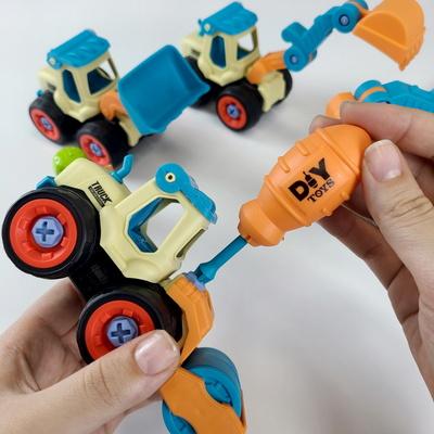 DIY 중장비만들기  공구놀이장난감