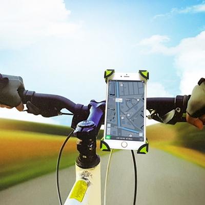 절대 빠지지 않는 자전거 스마트폰 거치대