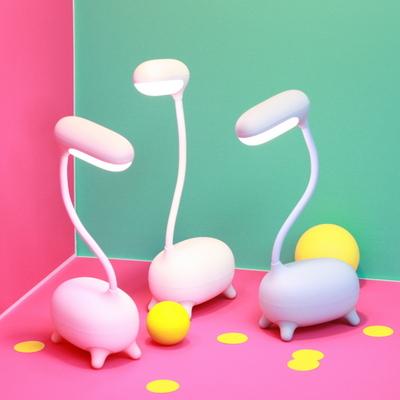 GIRAFFE(기린) LED 스탠드 - 핑크
