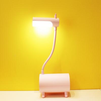 리틀 기린 충전용 무선 LED 스탠드 (핑크)
