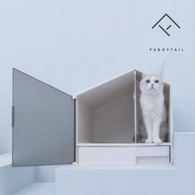 사막화방지 프라이버시 하우스형 고양이 화장실