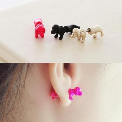 트리블 퍼피 귀걸이