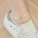 [실버] 3mm 스네이크 체인 발찌