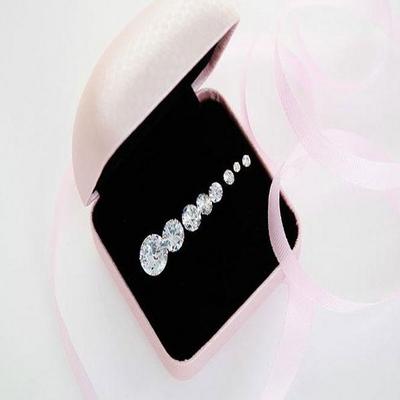 [낱개판매] 베이직 큐빅 귀걸이